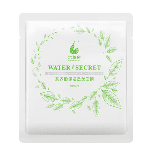 蝸蝸茶多酚保濕蠶絲面膜5片/盒
