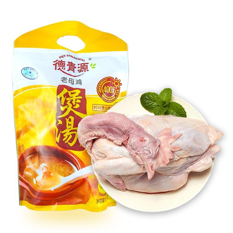 德青源生态母鸡1.2kg