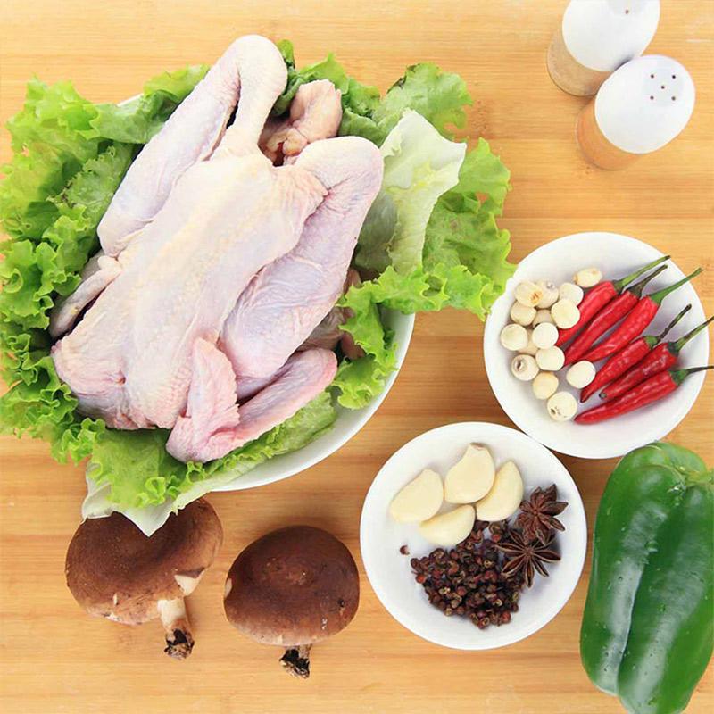 德青源生态母鸡1.2kg+德青源童子鸡0.6kg