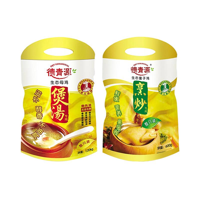 德青源生态母鸡1.2kg+德青...