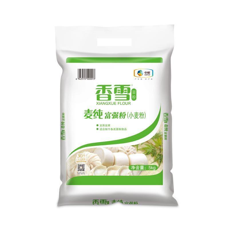 中粮香雪麦纯富强粉5kg