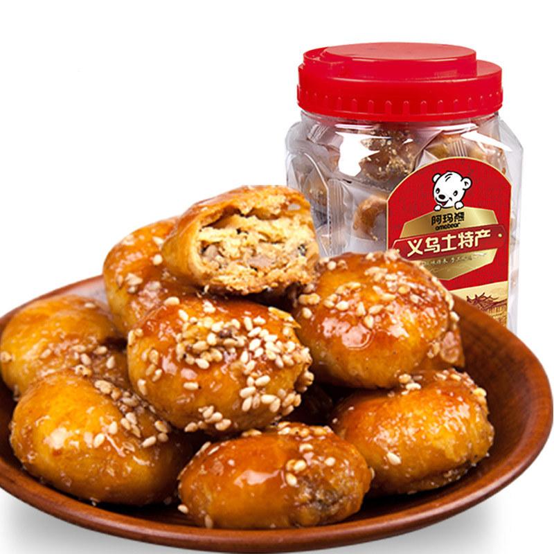 阿玛熊浙江特产红糖小酥饼500...