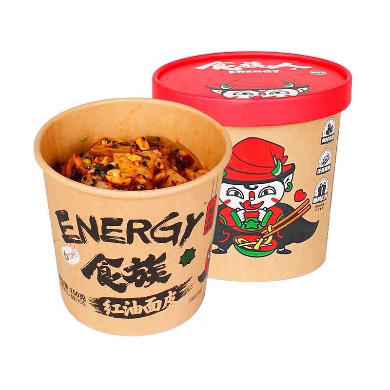 食族人 红油面皮 150g*6桶
