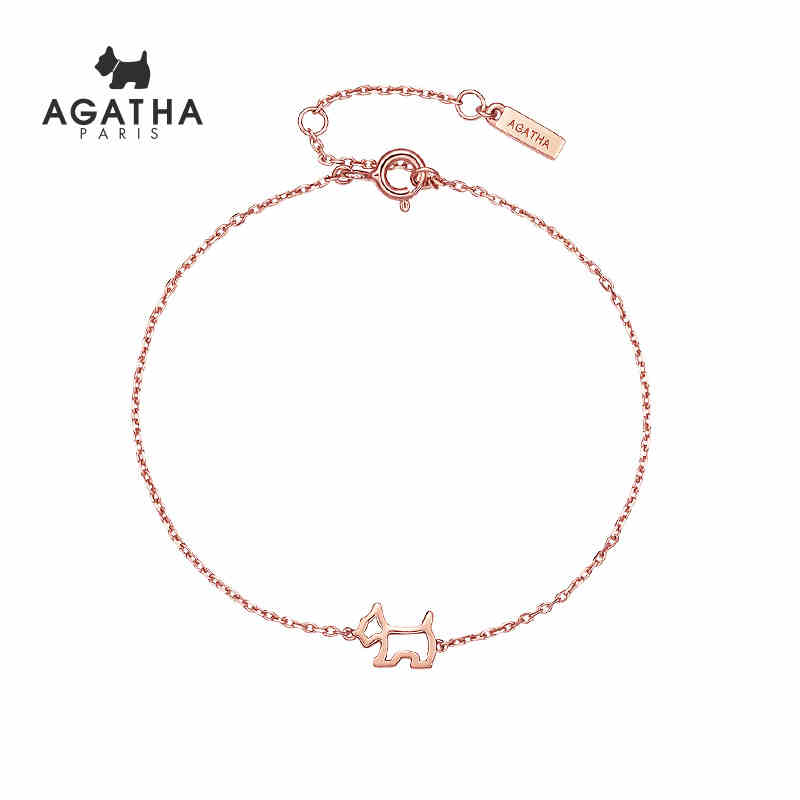 AGATHA/瑷嘉莎 镂空小狗...