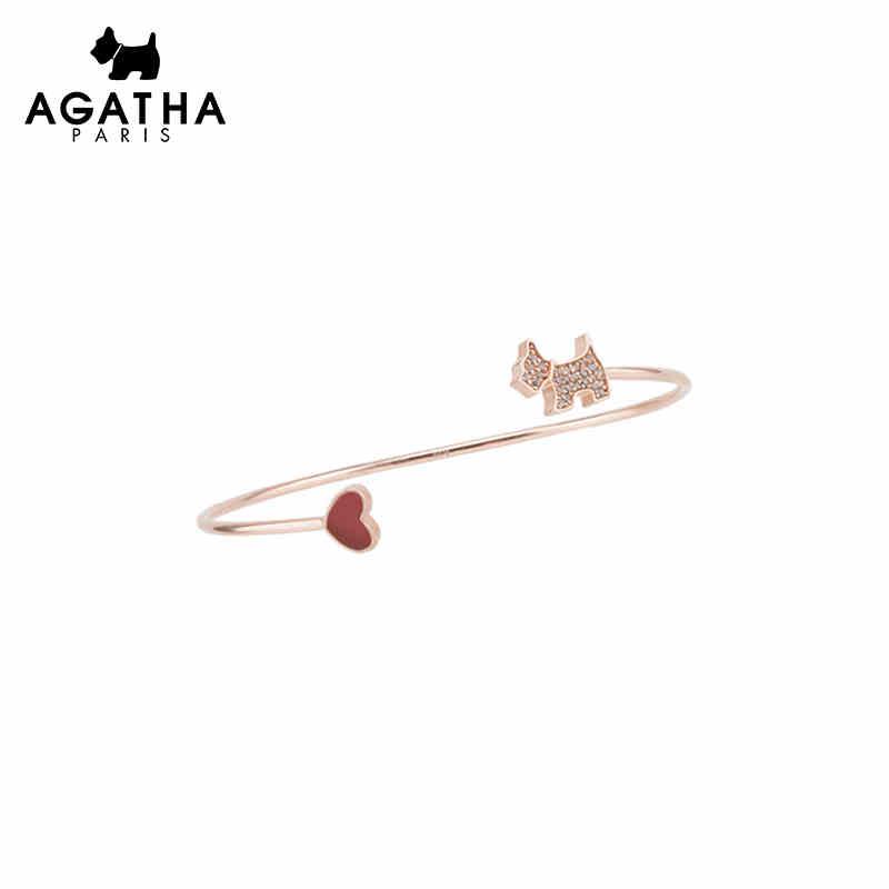 AGATHA/瑷嘉莎 小狗爱心...