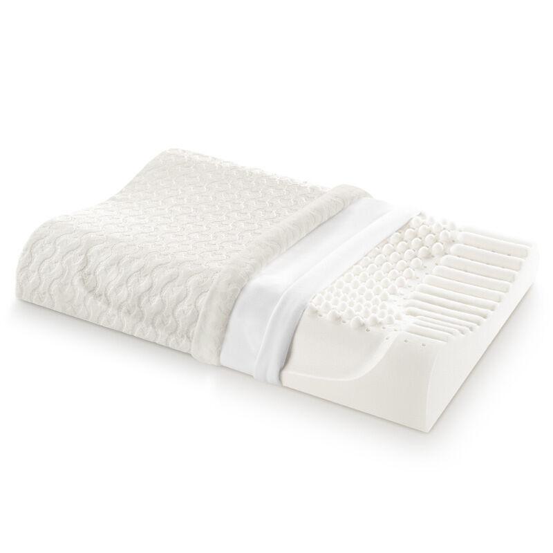 佳奥 泰国波浪形颗粒乳胶枕 低...