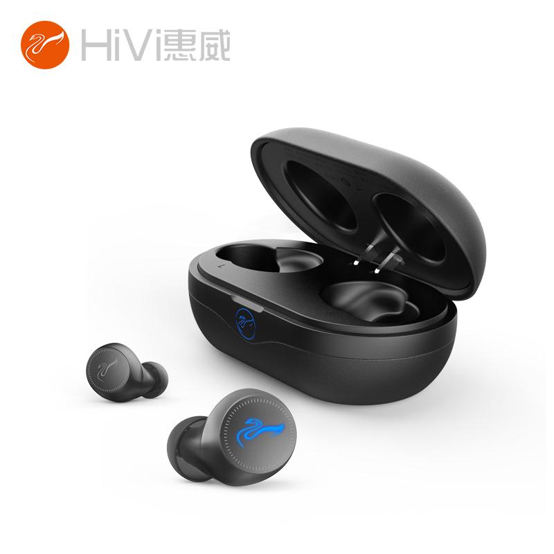 惠威(HiVi)真无线蓝牙耳机 AW-73 黑色