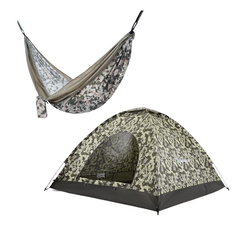 外交官户外旅行套装(帐篷+吊床...