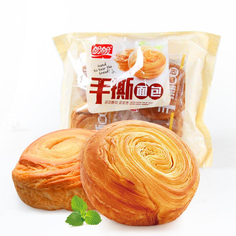 盼盼 手撕面包奶香味160g*...