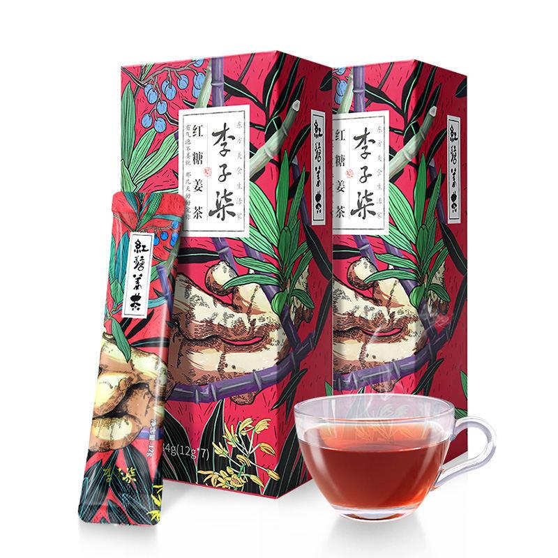 李子柒 红糖姜茶12g*7条/...