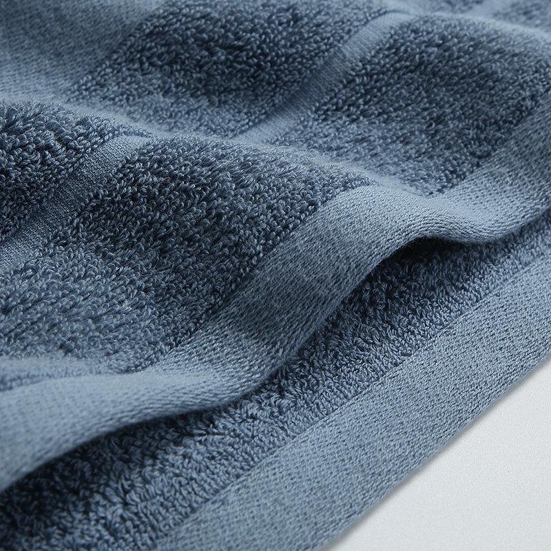 康尔馨 世茂希尔顿伯爵浴巾 150cm*80cm*650g 绅士灰