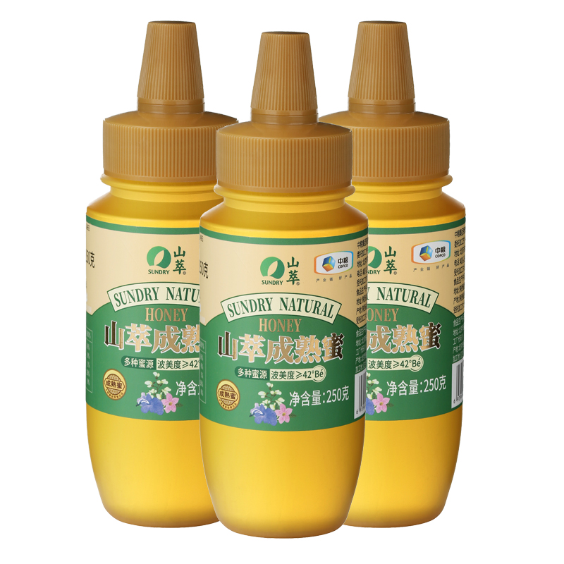 中粮山萃成熟蜜组合250g*3