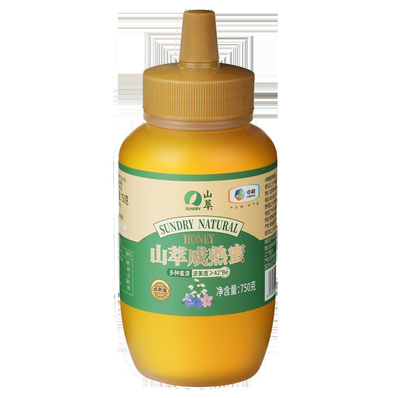 中粮山萃成熟蜜750g