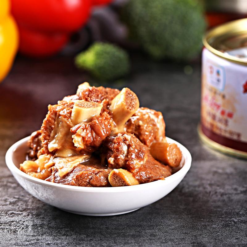 中粮梅林红烧排骨罐头组合340g*3