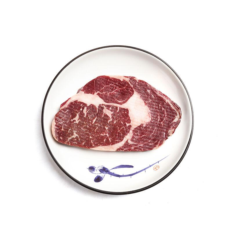 新希望云优选 澳洲谷饲100天安格斯眼肉牛排160g*4片