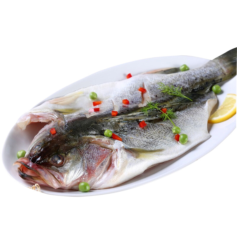 三都港 清蒸海鲈鱼500g*3