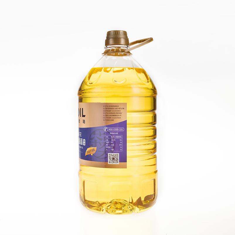 重粮 阳光琥珀山茶葵花食用植物调和油5L