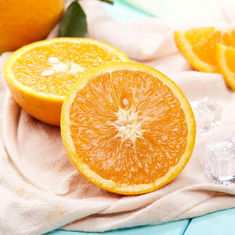 【湖北扶贫】誉福园 湖北秭归夏橙5斤装(榨汁橙酸甜口,非纯甜口)