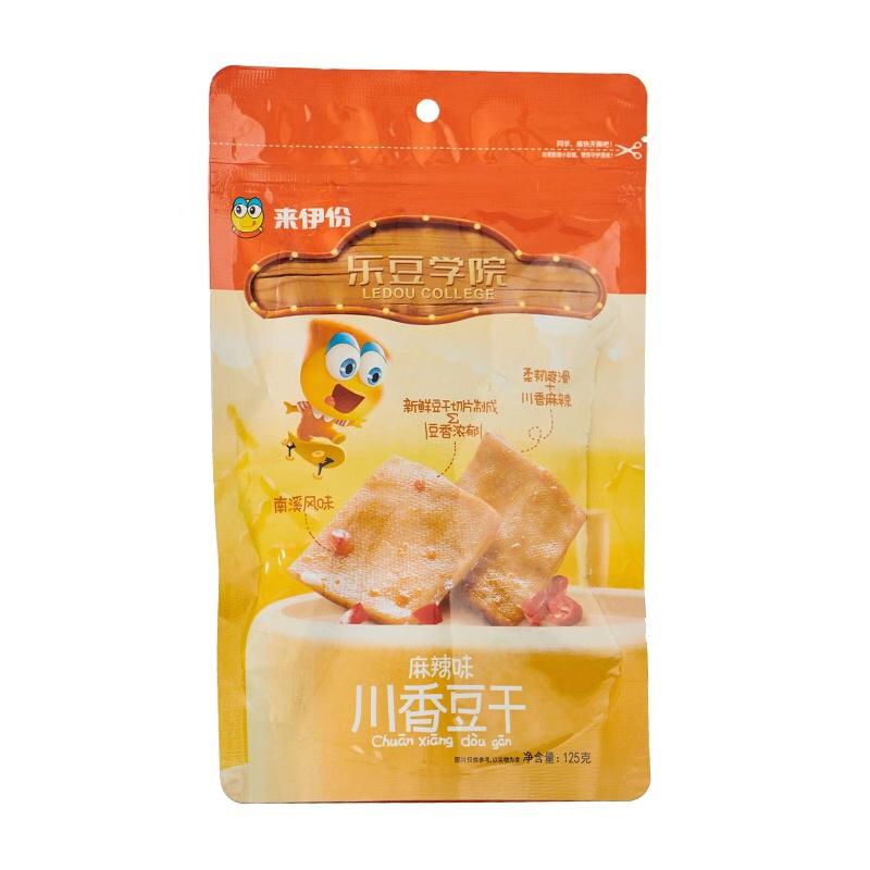 来伊份 川香豆干(麻辣味)125g×4袋