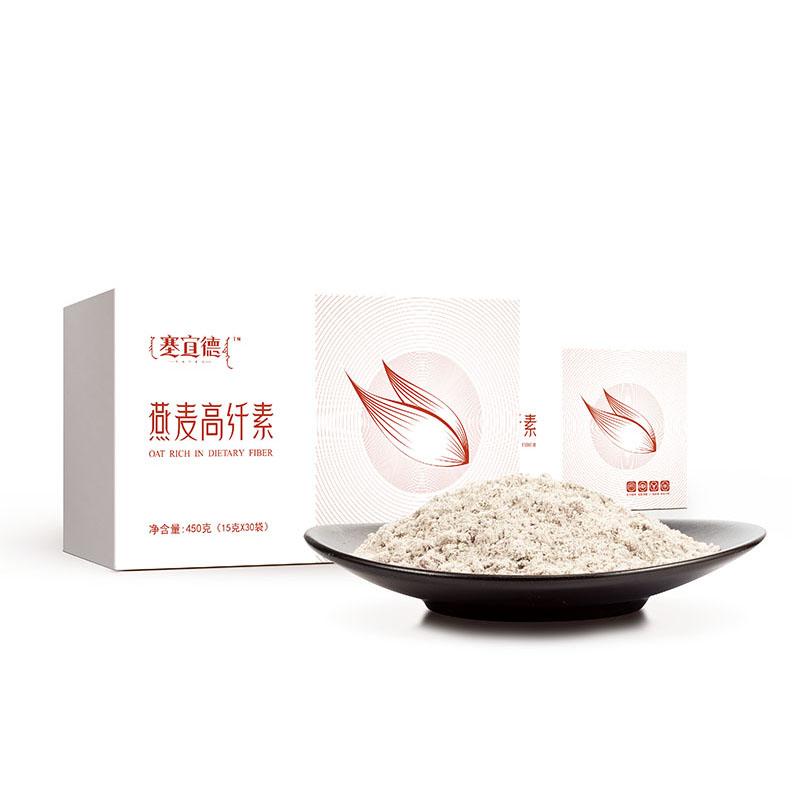 阴山优麦 燕麦高纤素450g(...
