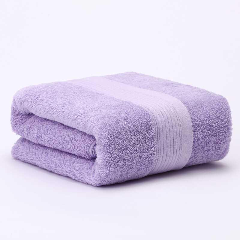 大朴埃及长绒棉加厚浴巾70x1...