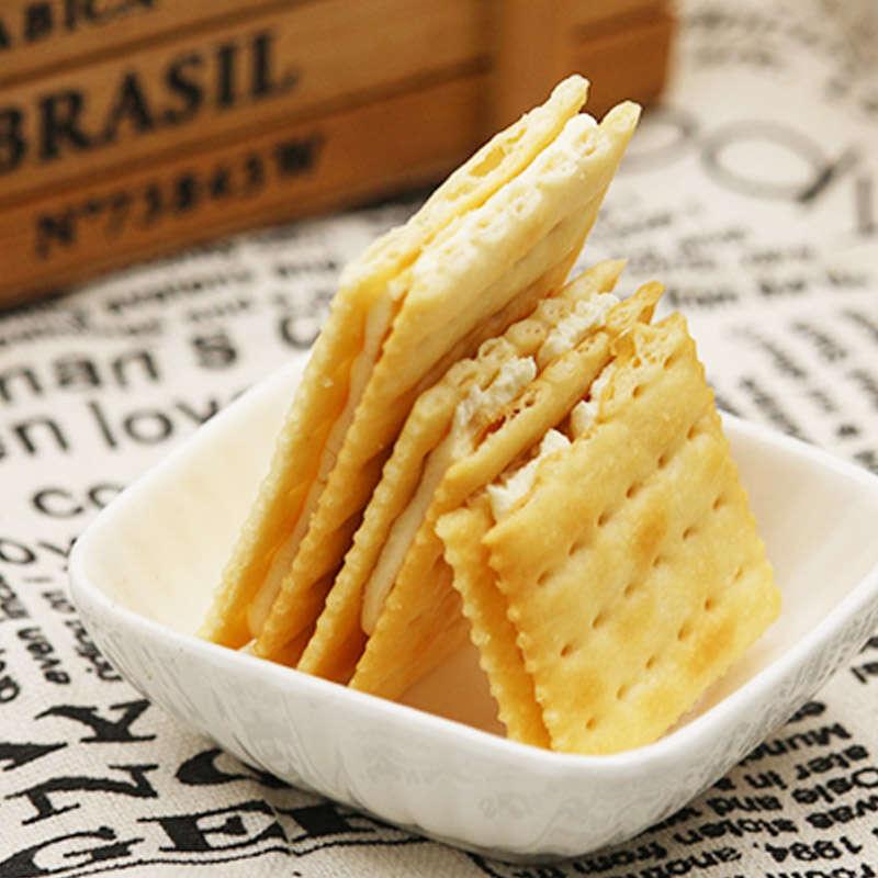 鐵尺夾心蘇打餅600g*3奶酪味