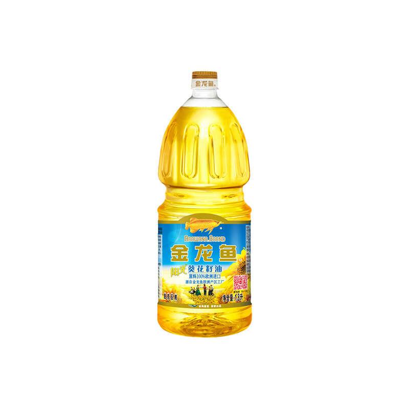 金龍魚葵花籽油/十月稻田東北大米 新春組合(1.8L*2+2.5KG)
